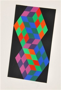 print by victor vasarely