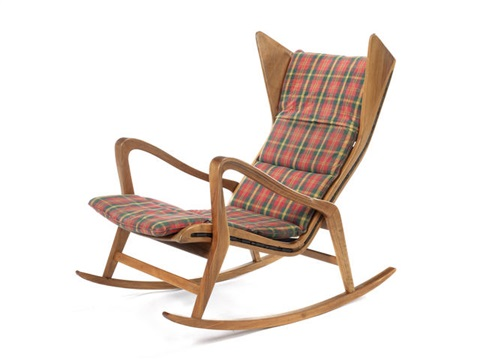 Rocking Chair By Cassina