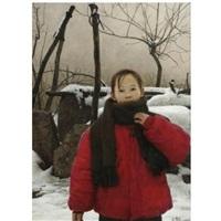 spring snow by hongjian wang
