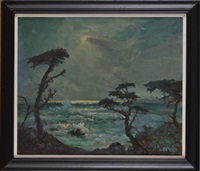 moonlit cypress by frank montague moore