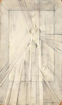 composition rayonniste by otari kandaurov