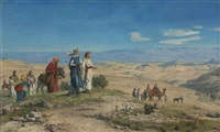 outside jerusalem by john rogers herbert