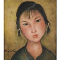 jeune fille (a young lady) by le thi luu