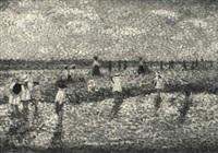 sur la plage by camille lesne