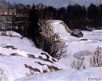 l'hiver par une journée ensoleillée by natalia (nina) petrova