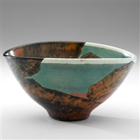 classic canyon bowl by wayne higby