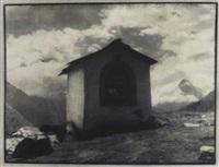 vue de l'alpe de cottier près de zinal by antoine mazel