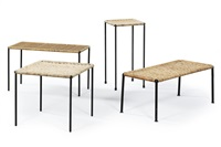 side tables (model 4348) (set of 4) by carl auböck