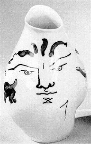 Vase With Two Faces By Jean Cocteau On Artnet