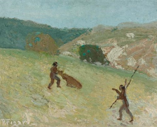 caza by pedro figari