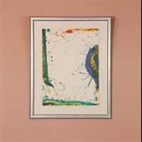 sans titre by sam francis