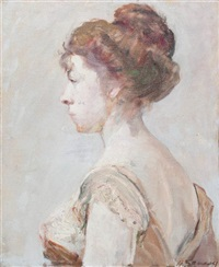 portrait of a lady by hattie saussy