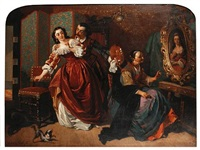 a questioning muse by charles van den daele