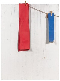 composition bleu, blanc, rouge by angel alonso