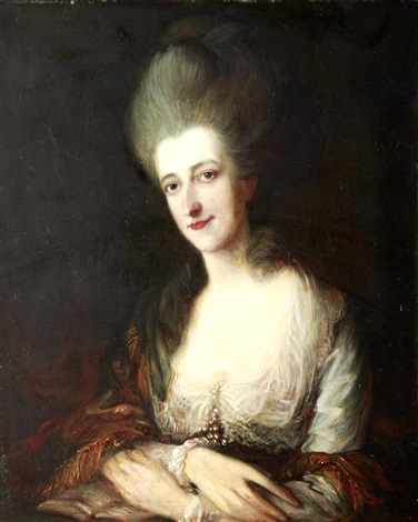 portrait lady dorothea eden by thomas gainsborough