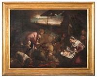 adorazione dei pastori by bassano family