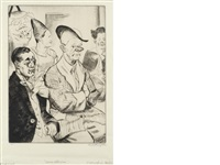 some clowns by dame laura knight