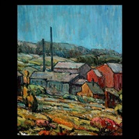 the old cider mill by armand monaco