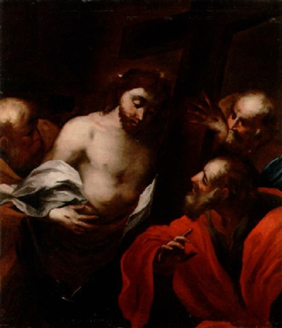 the incredulity of saint thomas by gioacchino assereto