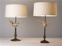 table lamps (pair) by pepe mendoza