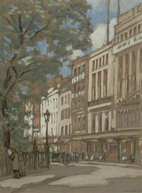 golden square, london by horace mann livens