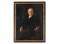 portrait kuno fischer by caspar ritter