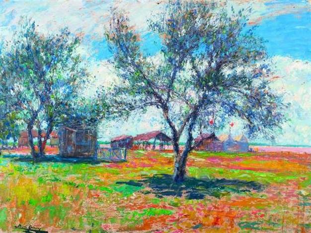 paisaje soleado by cesáreo bernaldo de quirós