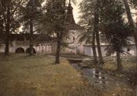 le monastere kirillo-belozerski by ernst krantz