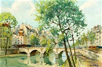 le pont neuf by constantine kluge