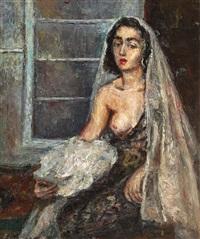 spanish woman by hrandt avachian