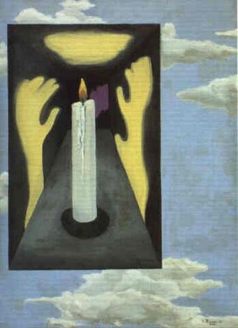 surrealistisk komposition by else thoresen