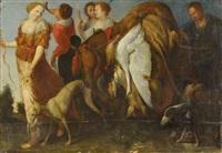 le retour de diane de la chasse by flemish school (17)
