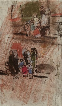 two groups of people by joan kathleen harding eardley