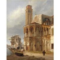 la chiesa dei santi maria e donato a murano by luigi querena