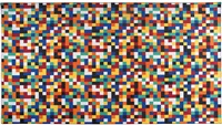 1024 colours rug by gerhard richter