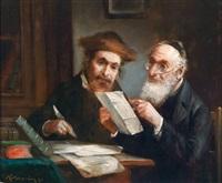 jüdische gelehrte by lajos koloszvary