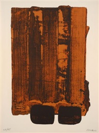 lithographie 34 by pierre soulages