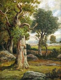 le plateau de bellecroix by charles ferdinand ceramano