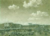 vue d'un port by pierre ozanne