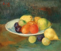 still life of fruit by gerhard arnold christiaan smith