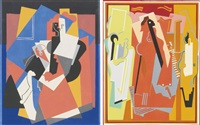 composition and les deux américains: two works by albert gleizes