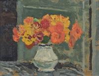 bouquet de capucines by alfred swieykowski