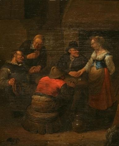 paysans jouant de la musique dans une auberge by egbert van heemskerck the younger