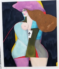 ace of clubs by richard lindner