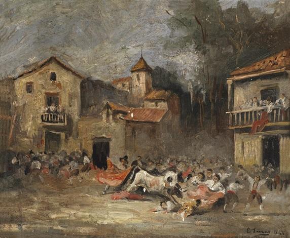 ein stierkampf by eugenio lucas velázquez