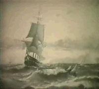 marin med segelfartyg by anund emanuel