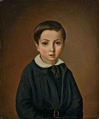 portrait de jeune garçon by philipp hoyoll