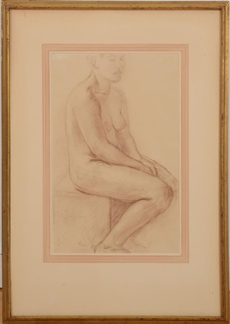 model resting by charles despiau