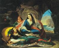 don juan et haïdée by marcel saunier