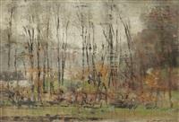 sous l'automne by justin (joseph marie j.) gabriel